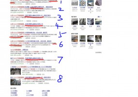 盛丰建材网、商国互联网、中国化工产品网三个平台合力霸占百度首页八个位置
